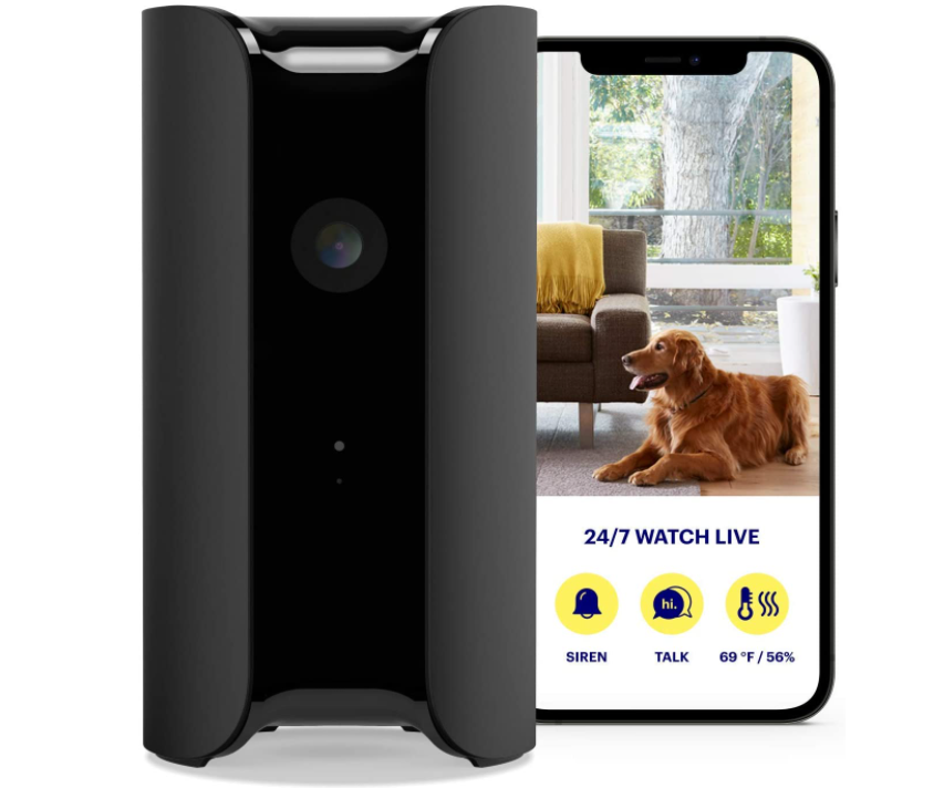 Canary Pro Indoor Home Security Camera with Premium