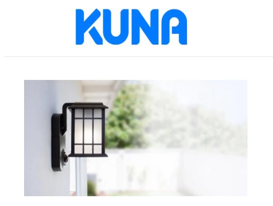 Kuna Security Camera - Best Cheap Option