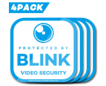 Waterproof Window Decals for Blink XT Camera Home Security System-4pack